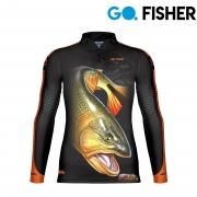 Camiseta Go Fisher GF 04 - Dourado