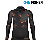 Camiseta Go Fisher GF 07 - Camouflage