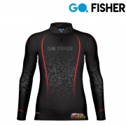 Camiseta Go Fisher GF 08 - Camuflado