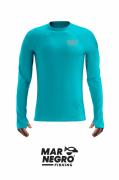 Camiseta Infantil Mar Negro Fishing Poliamida - Azul Piscina Ref. 32227
