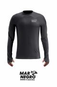 Camiseta Infantil Mar Negro Fishing Poliamida - Chumbo Ref. 32227