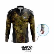 Camiseta Mar Negro Fishing Clean 4 Ref. 30098