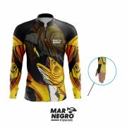 Camiseta Mar Negro Fishing Dourado Ref. 30098