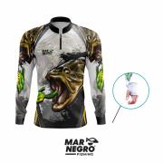 Camiseta Mar Negro Fishing Traíra Ref. 30098