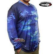 Camiseta MTK Atack V Blue - FPS 35+