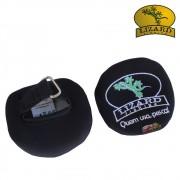Capa / Protetor de Carretilha Neoprene Lizard - Preto e Azul