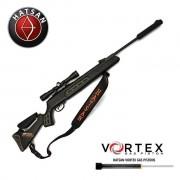 Carabina de pressão Hatsan 125 Sniper Vortex - Calibre 5.5mm + Bipé + Luneta 5.9 x 35.9