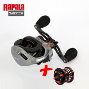 Carretilha Rapala Sagitta ES Com carretel Raso reserva 200ES - 201ES / 160g 8.1:1