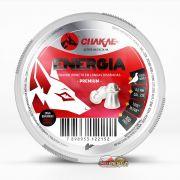 Chumbinho Chakal Energia Premium 6,0mm - Latinha c/ 100 unidades