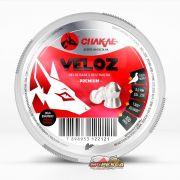 Chumbinho Chakal Veloz Premium 6,0mm - Latinha c/ 100 unidades