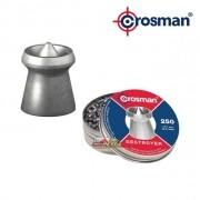 Chumbinho Crosman Destroyer EX 4.5mm - Latinha c/ 250 unidades