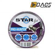 Chumbinho Dacs Star Fire Pro-Hunter 4,5mm - Latinha c/ 500 unidades