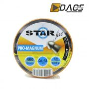 Chumbinho Dacs Star Fire Pro-Magnum 4,5mm - Latinha c/ 400 unidades