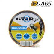 Chumbinho Dacs Star Fire Pro-Magnum 5,5mm - Latinha c/ 300 unidades