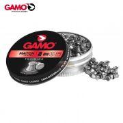 Chumbinho Gamo Match Classic 4,5mm - Latinha c/ 250 unidades