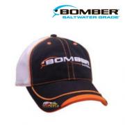 Boné Bomber Lures - Preto com Laranja - LWBMH2