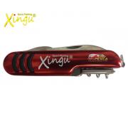 Canivete 05 Funções Xingu XV3177 -  Vermelho