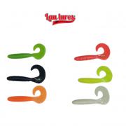 Isca Artificial Lau Lures - Grub 8 cm - Embalagem com 5 unidades