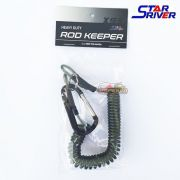 Cordão Espiral Salva Vara Heavy Duty Rod Keeper X93 Star River 1,5m