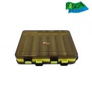 Estojo Pesca Brasil Mini - Dupla Face Amarelo - 098000