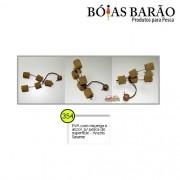 Anteninha Boias Barão EVA com Miçanga e Anzol p/ pesca de superfície Nº 354