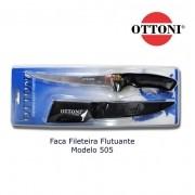 Faca Fileteira Flutuante Ottoni F-505 com bainha