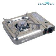 Fogareiro horizontal Nautika Flex Fuel compatível com cartucho de gás e botijão de gás e com acendedor automático - Cheff