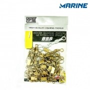Girador Marine Sports BSS Polished Gold Com Snap