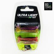 Isca Artificial Big Ones Ultra Light Kit ( 08 Camarões ) - Kit 01