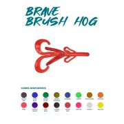 Isca Artificial Brave Worm - Brave Brush Hog 10,5cm