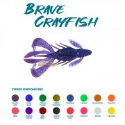 Isca Artificial Brave Worm - Brave Crayfish 9cm - 1 unidade