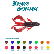Isca Artificial Brave Worm - Brave Gotham 10cm - 1 unidade