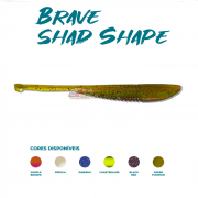 Isca Artificial Brave Worm - Brave Shad Shape 9,5cm - 1 unidade