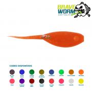Isca Artificial Brave Worm -  Bullfrog Tadpole 7,5cm - 1 unidade