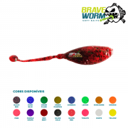 Isca Artificial Brave Worm - Tadpole Ball 5,5cm - 1 unidade