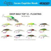 Isca Artificial Capitão Hook TOP 12 Deep Max - 6cm