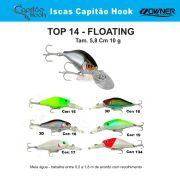 Isca Artificial Capitão Hook TOP 14 - 5,8cm