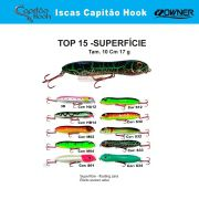 Isca Artificial Capitão Hook TOP 15 - 10cm