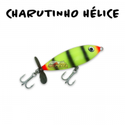 Isca Artificial KV Charutinho Hélice 70 - 9g