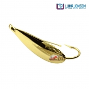 Isca Artificial Luhr-Jensen Colher Reflex Dourada - 6,5cm 7g