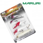 Isca Artificial Maruri Kit MR-KH02 Hunter com 5 Iscas - cores sortidas