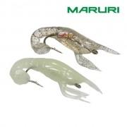 Isca Artificial Maruri Soft Bait Shrimp W025 - 7cm - Cartela com 02 unidades