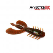 Isca Artificial Monster 3X Fly Wing 8cm - Cartela com 03 unidades