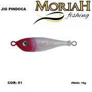Isca Artificial Moriah Jig Pindoca 15 gr