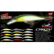 Isca Artificial Sumax Crazy Minnow 90F