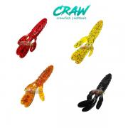 Isca Artificial Two Fish Deconto Softbait - Crawfish (Cores Sortidas)