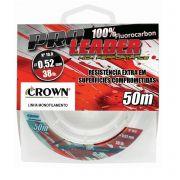 Linha Crown Pro Leader 100% Fluorocarbon 50m - Lider