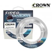 Linha Fluorcarbono Crown Fiber Leader 50m