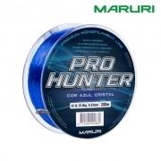 Linha Monofilamento Maruri Pro Hunter 200m - Azul Cristal
