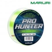 Linha Monofilamento Maruri Pro Hunter 200m - Verde Neon